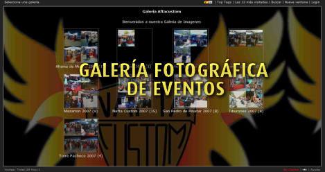 Galería de Eventos en Imágenes